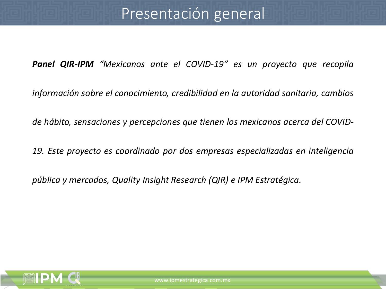 IPM-QIR Percepciones sobre el Coronavirus2